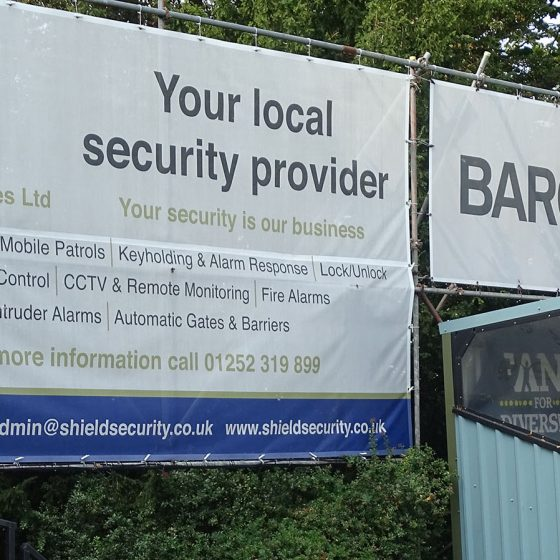 Shield Security Services Supports Local Football Team